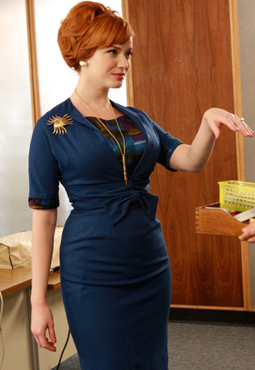 Joan from Mad Men for a womens chicago Halloween Costume