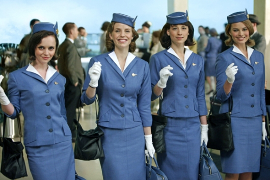 Panam girl for a womens Chicago halloween costume