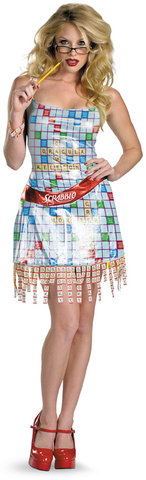 Sexy game of Scrabble? Halloween Costume